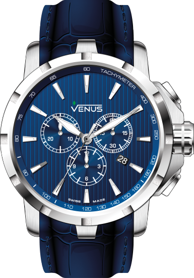 VE-1311A1-38-L12 | VENUS WATCHES