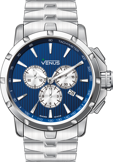 VE-1311A1-38W-B1 | VENUS WATCHES