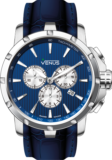 VE-1311A1-38W-L12 | VENUS WATCHES