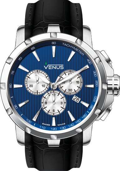 VE-1311A1-38W-L2 | VENUS WATCHES