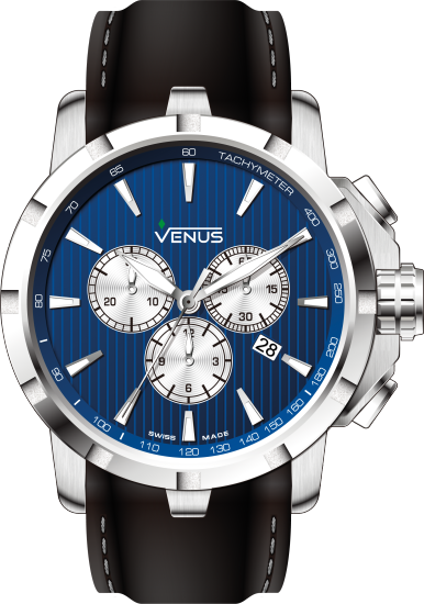 VE-1311A1-38W-R2S1 | VENUS WATCHES