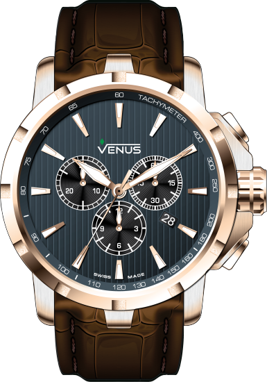 VE-1311A6-37-L16 | VENUS WATCHES